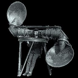 Tekniker med gammeldags lytteudstyr