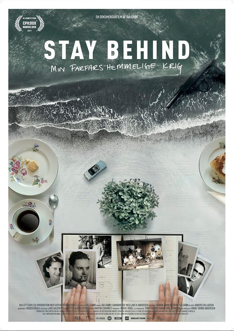 Original dokumentarfilm Stay Behind - min farfars hemmelige krig produceret af GotFat filmproduktion