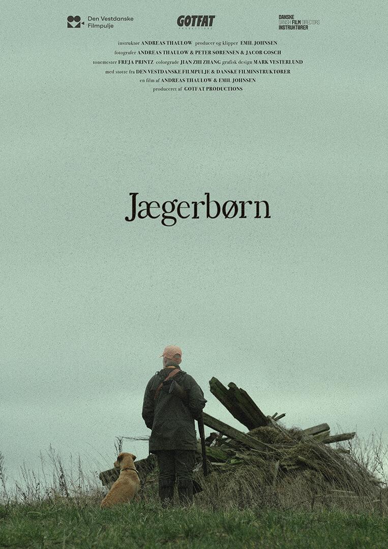 Original dokumentarkortfilm Jægerbørn produceret af GotFat filmproduktion