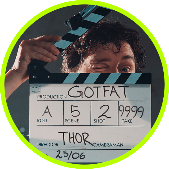 Thor Bank filminstruktør og producer hos GotFat Filmproduktion